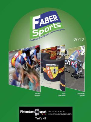 Catalogue FABER Sports