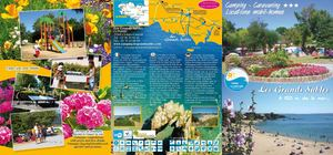 brochure 213 camping Les Grands Sables