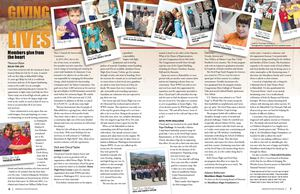 Member Volunteer Magazine Spread