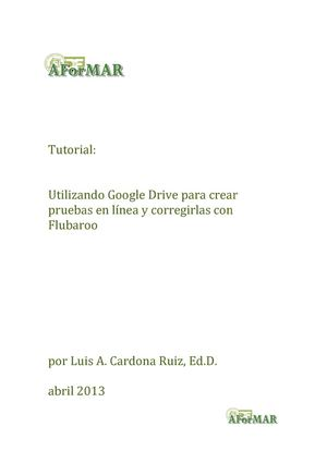 Web 2.0: Tutorial de Google Drive