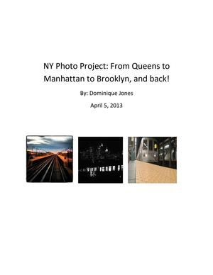 ny photo prject pdf