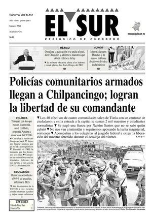 Calaméo - El Sur 9 de Abril de 2013