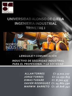 Instructivo de Seguridad Industrial