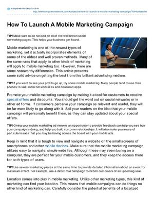How_To_Launch_A_Mobile_Marketing_Campaign