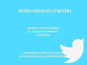RED SOCIAL TWITER