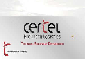 PRESENTACION CERTEL HIGH TECH LOGISTICS