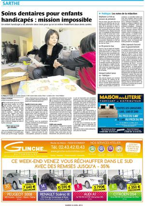 Article Maine Libre 6 avril 2013
