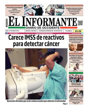 El Informante 15 de abril 2013