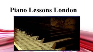 Piano Lesson Lodon