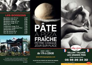 Carte Kiosque A Pizza.Calameo Carte Kiosque A Pizzas Yelloh Village Les Grands Pins