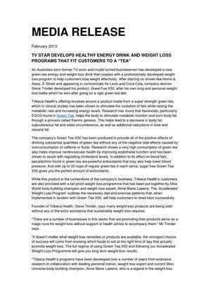 Green tea x50 weight loss results