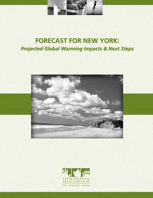 Forecast for New York:  Projected Global Warming Impacts & Next Steps