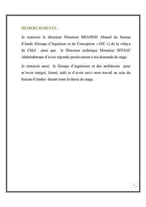 Calaméo Rapport De Stage Bureau D étude