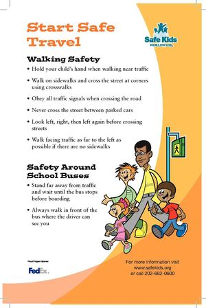 Calamo pedestrian safety tip sheet pedestrian safety tip sheet publicscrutiny Choice Image
