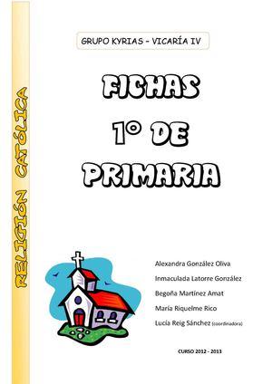 Calaméo - FICHAS DE 1º - RELIGIÓN