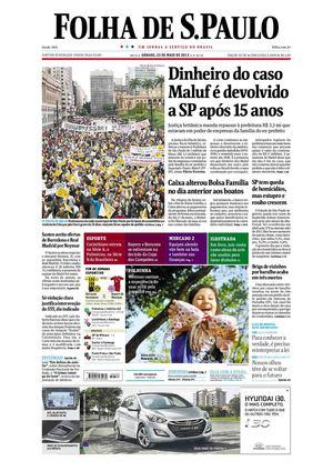Calaméo - Folha de São Paulo 25-05-2013 1e97264c862d5