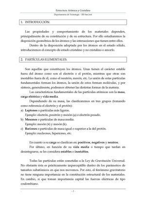 Calaméo Estructura Atómica Y Cristalina