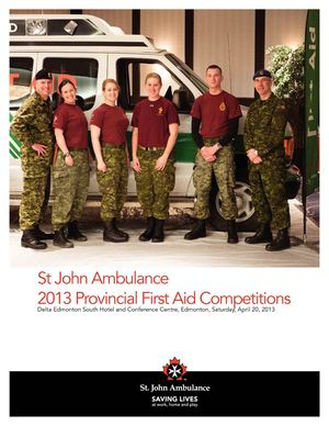 15 Field Ambulance First Aid Competitions Photo Journal 2013