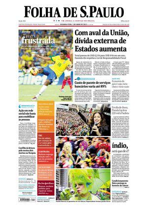 64e0a54a364 Calaméo - Folha de São Paulo 03-06-2013