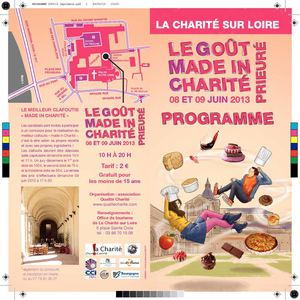 Le Goût Made in Charité 2013 - Programme