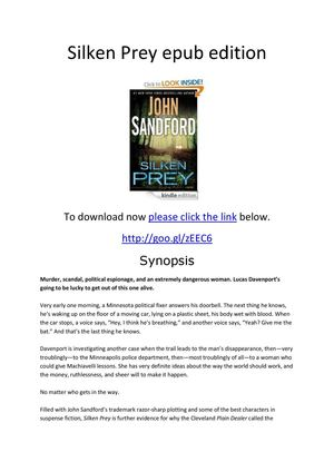 Silken Prey epub edition