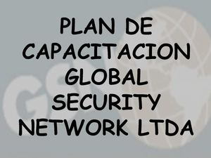 GLOBAL SECURITY NETWORK LTDA