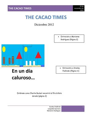 The cacao times