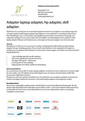 Adapter laptop