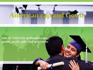 American Cap and Gown is your #1 Source for Graduation caps, gowns, tassels, gifts, and accessories.