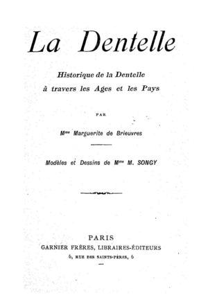 Calameo La Dentelle Maguerite De Brieuvres