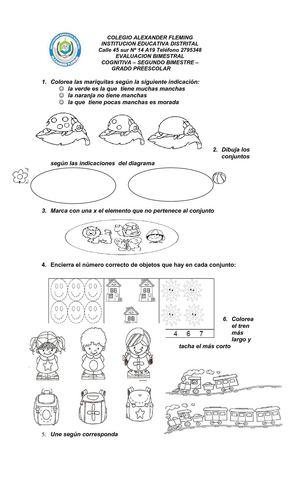 Calaméo - sencillas evaluaciones para preescolar