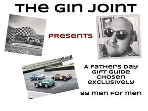 Champagne Living presents The Gin Joint Father's Day Gift Guide