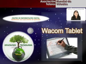 Ventajas educativas Wacom Tablet