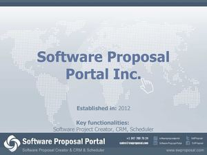 Create Project Proposal With Software Proposal Portal