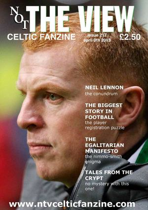 Not The View issue 217 subscriber matchday issue