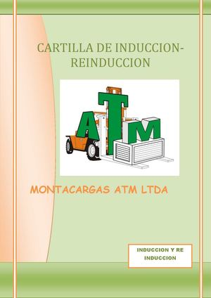 cartilla  de  induccion
