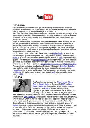 Youtube-Wikipedia-Facebook
