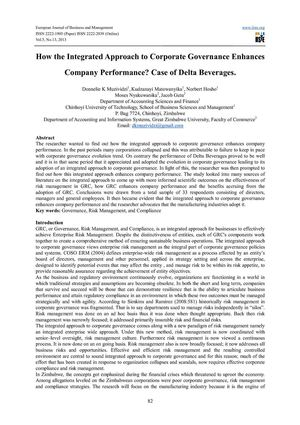 case study of delta beverage group Case study: dr pepper snapple group inc energy beverages  beverage market for the company (sport drinks) is similar to the situation he faced with recommending whether or not dr pepper snapple group, inc should introduce a new branded product into the energy beverage market.