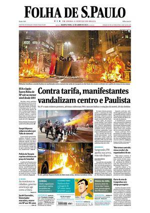 5e53c6163afb5 Calaméo - Folha de São Paulo 12-06-13