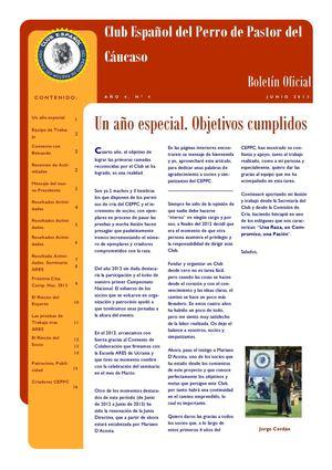 Calaméo - Boletín Informativo Club Español del Perro de Pastor del ...