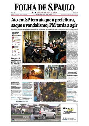 af5866a547d9d Calaméo - Folha de São Paulo 19-06-2013