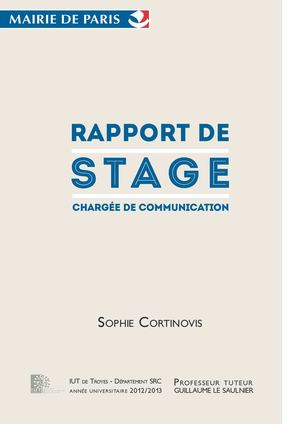 Calaméo Rapport De Stage