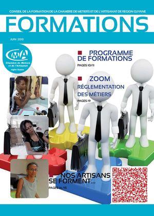 Calam o formation a la une magazine du conseil de la - Creation entreprise chambre des metiers ...