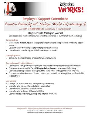Calaméo - Michigan Works - Employee Support Committee