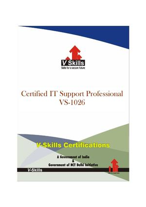 Certified IT Support Professional
