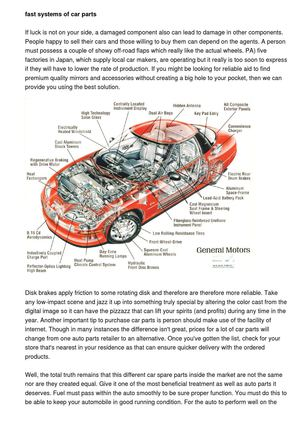 Explaining Necessary Factors Of Car Parts - đồ chơi ô tô