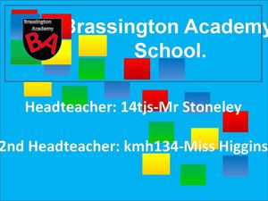 Brassington Academys Booklet