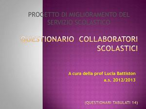 questionario collaboratori