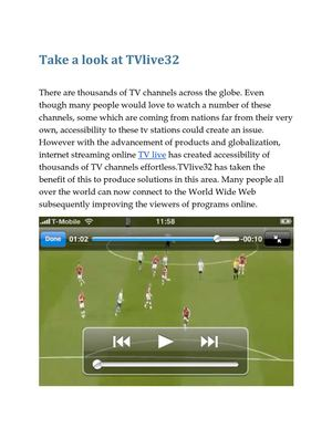 Take a look at TVlive32