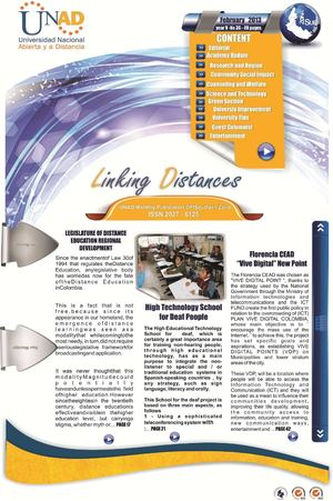 Linking Distances - January February - 2012 - UNAD South Zone